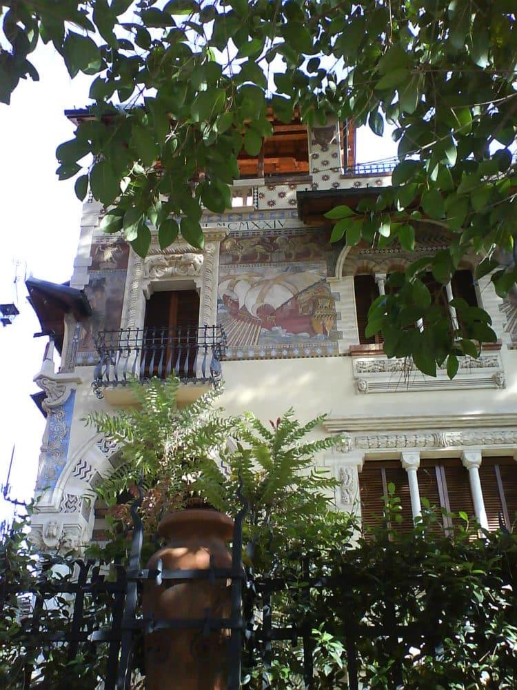 Visita guiada barrio Coppede