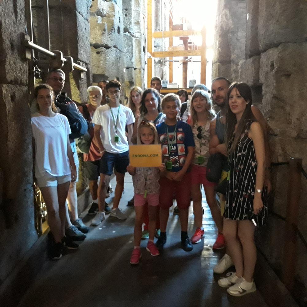 visita coliseo subterraneos