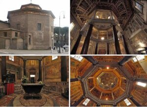 Basílica San Juan de Letran baptisterio