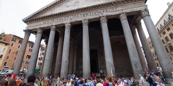 grupos en roma tours ante el panteon