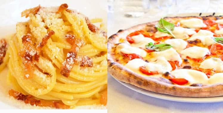 Los mejores primeros platos de Roma