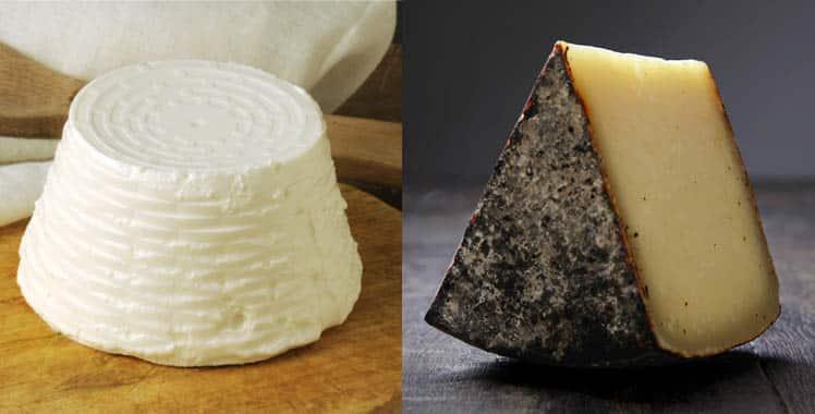 Los mejores quesos de Roma