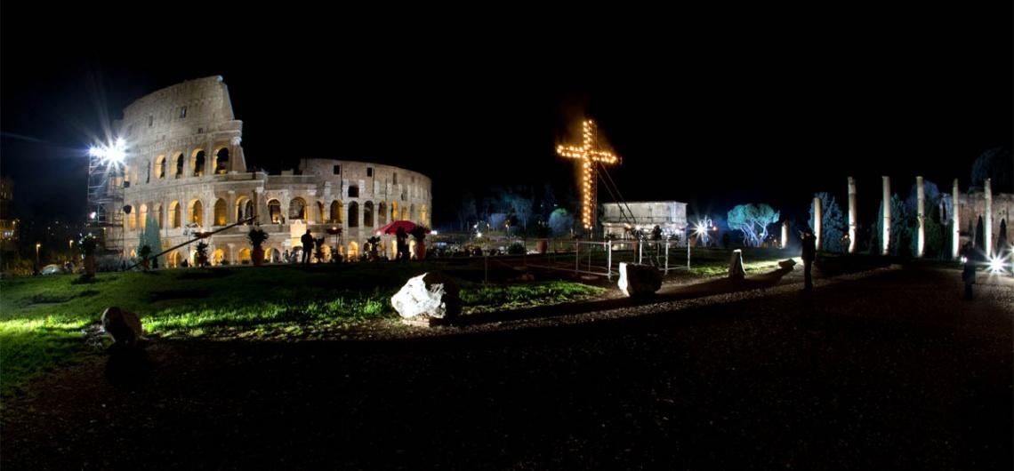 Semana Santa en Roma viacrucis