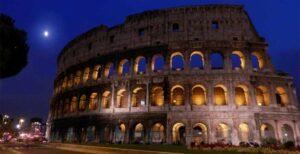 Visita Coliseo de Noche