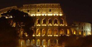 Visita el Coliseo de Noche