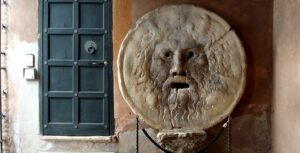 Visitar Roma con niños, boca de la verdad