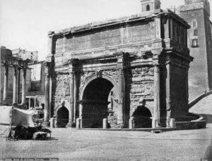 Foro Romano Arco Septimio Severo