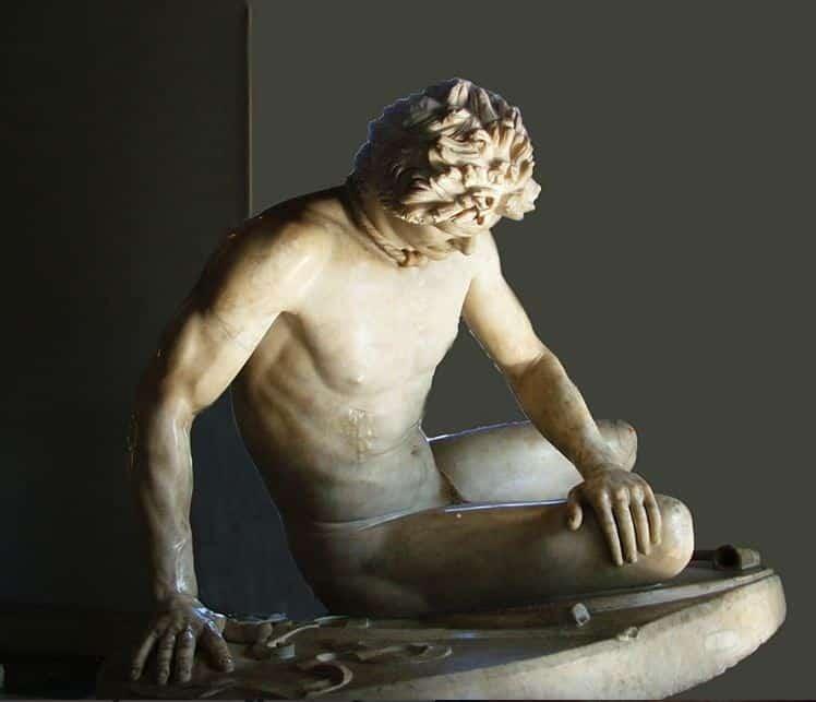 Museos Capitolinos estatua del Gálata herido, Roma con tu Guia En Roma