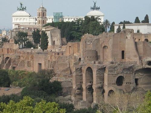 vistas del Palatino Roma
