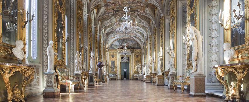 Palacio Doria Pamphilj galeria espejos