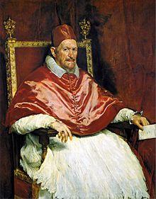 Inocencio X Velazquez en el palacio Doria Pamphilj