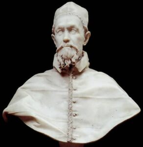busto Bernini Inocencio X palacio doria Pamphilj