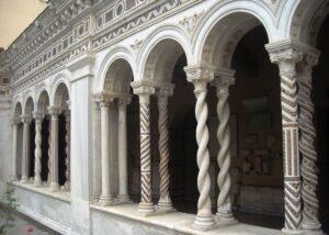 San Pablo Extramuros claustro