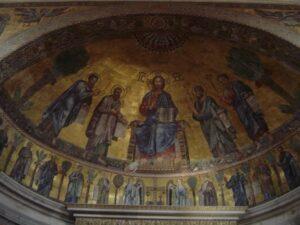 Abside basílica de San Pablo Extramuros