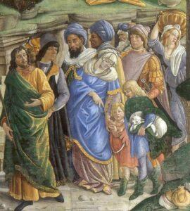 Moisés guía al pueblo de Israel