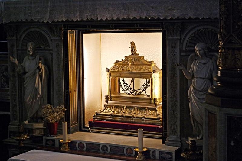 La iglesia de San Pietro in Vincoli