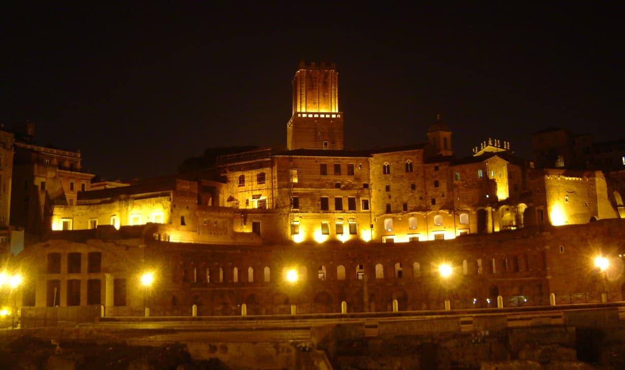 Mercado y Foro de Trajano Roma