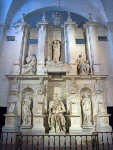 iglesia de San Pietro in Vincoli Moises, tumba de Julio II