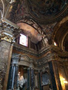 Santa Maria della Vittoria éxtasis de Santa Teresa de Bernini