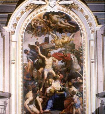San Sebastian del Domenichino en Santa María de los Ángeles