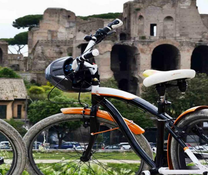 Tour en bicicleta por Roma centro histórico 3h