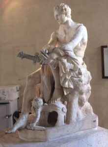 Palacio Altemps escultura Ares Ludovisi