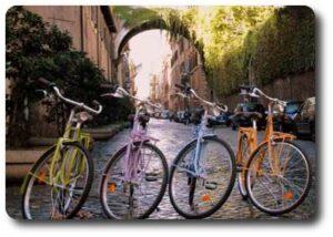 alquiler de bicicletas Roma