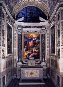 Santa Maria del Popolo capilla Cerasi Caravaggio e Carracci