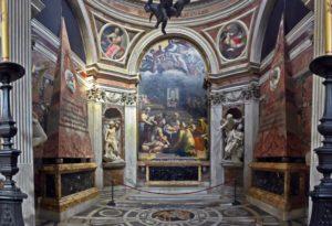 capilla Chigi santa Maria del Popolo