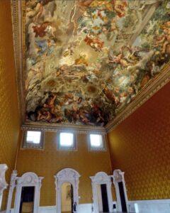 Palacio Barberini triunfo de la Providencia
