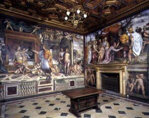 Sala bodas de Alejandro en Villa Farnesina Roma
