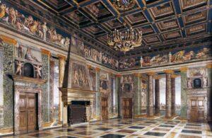 Villa Farnesina sala de las Perspectivas