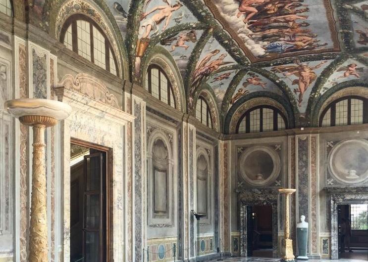 El Renacimiento en Villa Farnesina Trastevere