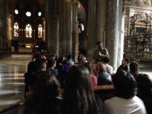 Visita iglesia de Santa Maria Sopra Minerva
