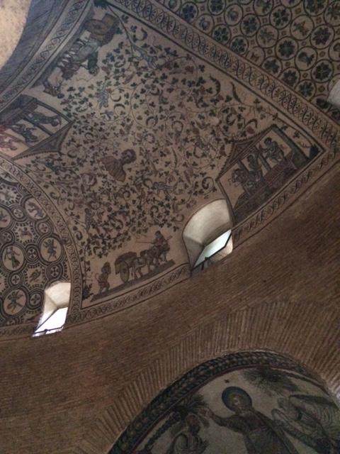 mausoleo constanza mosaicos
