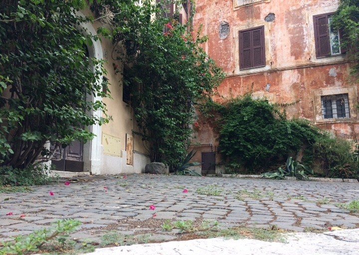 rincones de Roma cerca del Coliseo