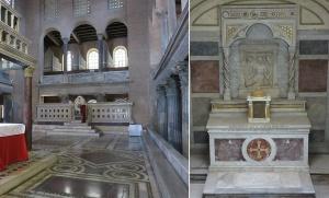 basilica de San Lorenzo Extramuros en Roma
