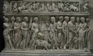 san lorenzo extramuros sarcofago romano