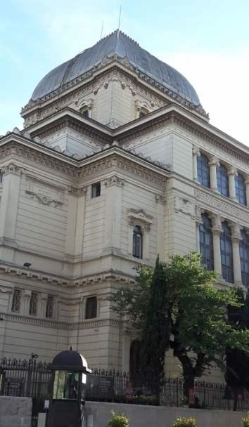 Sinagoga de Roma en el barrio judío