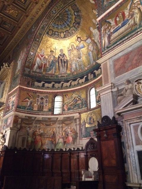 abside de Santa Maria en Trastevere