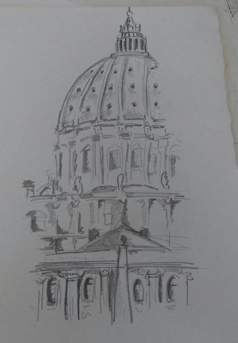 Cúpula de la Basílica de San Pedro
