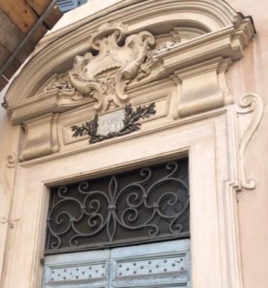 Fons Fons Olei en Santa Maria in Trastevere