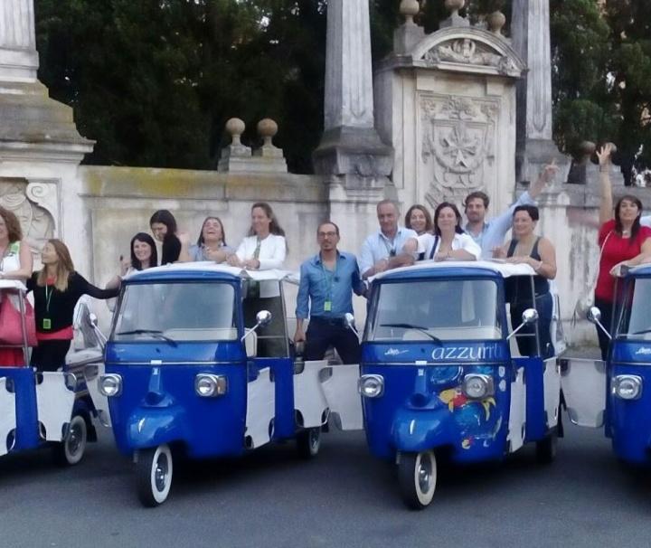 Tour en Ape en Roma