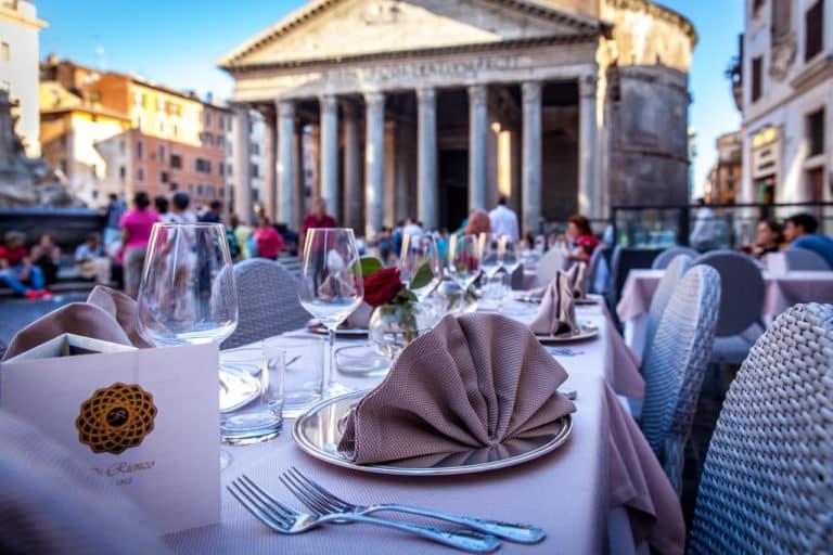 Restaurante en Roma Di Rienzo