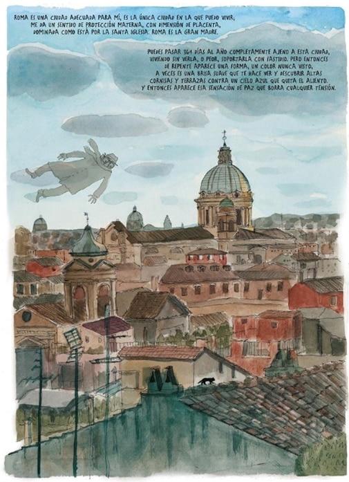 recorridos de cine en Roma Fellini en Roma de tyto alba
