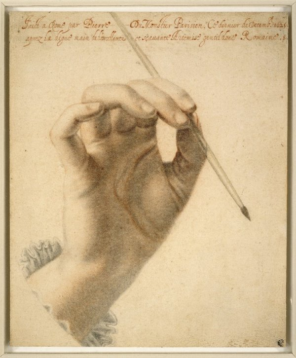 mujeres de Roma mano Artemisia Gentileschi