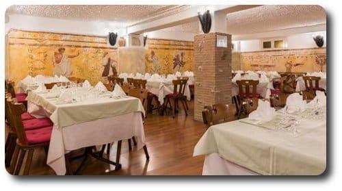 Restaurante en Roma cerca del Vaticano cena Nochevieja
