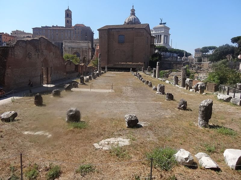 basilica Emilia junto a la Via Sacra