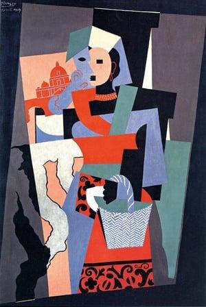 Picasso en Roma Ciocciara en Plaza de España