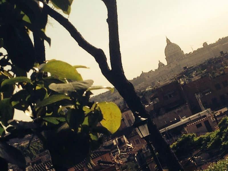 Vistas desde el Pincio y Plaza del Popolo
